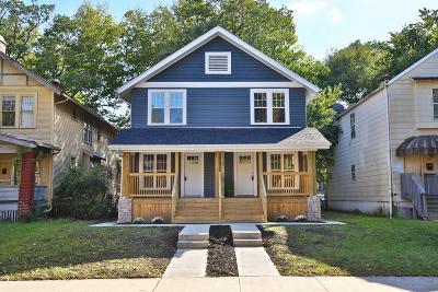 Columbus Single Family Home For Sale: 1659 Oak Street #61