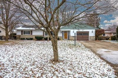 Upper Arlington Single Family Home Contingent Finance And Inspect: 3441 Sciotangy Drive