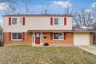 Westerville Single Family Home Contingent Finance And Inspect: 3468 Saigon Drive