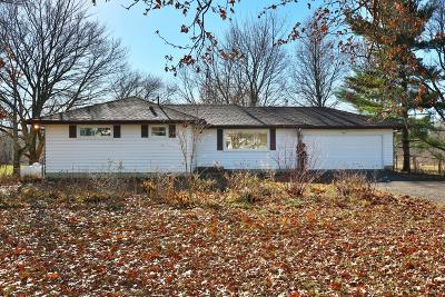 New Albany Single Family Home Contingent Finance And Inspect: 7585 Central College Road