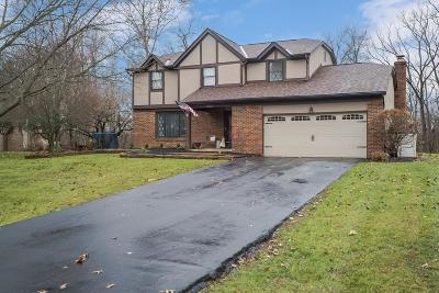 Pickerington Single Family Home Contingent Finance And Inspect: 10166 Oxford Drive