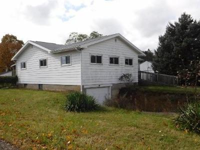 Mount Vernon OH Single Family Home For Sale: $95,000