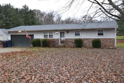 Single Family Home Contingent Finance And Inspect: 1431 S Watkins Road