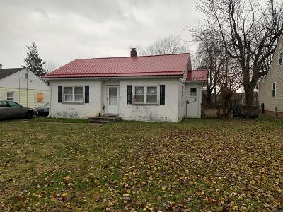 Washington Court House OH Single Family Home For Sale: $55,500