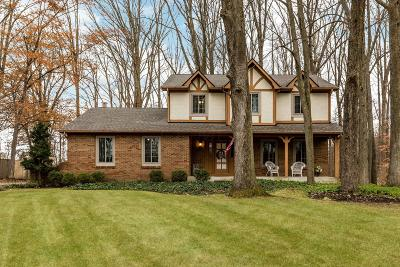 Reynoldsburg Single Family Home Contingent Finance And Inspect: 13 Beechwood Drive SW
