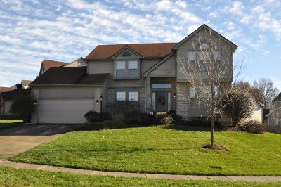 Reynoldsburg Single Family Home Contingent Finance And Inspect: 672 Culpepper Drive