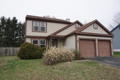 Reynoldsburg Single Family Home For Sale: 329 Trailblazer Lane