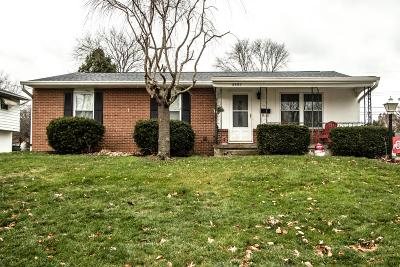Reynoldsburg Single Family Home Contingent Finance And Inspect: 6487 Red Coach Lane