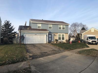 Pickerington Single Family Home Contingent Finance And Inspect: 3191 Wild Dunes Court