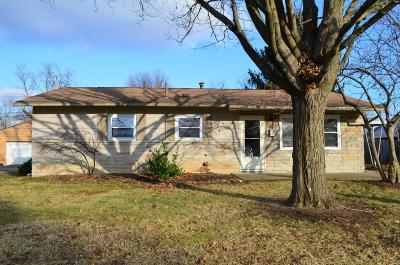 Reynoldsburg Single Family Home For Sale: 862 Sunview Road