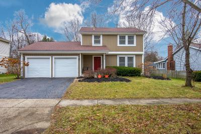 Columbus Single Family Home For Sale: 1658 Sandy Side Drive