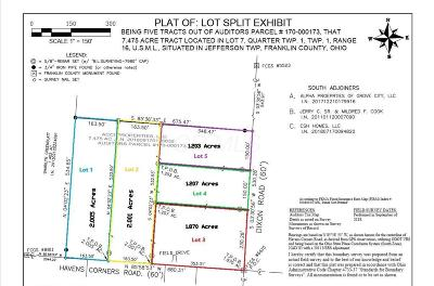 Blacklick Residential Lots & Land For Sale: Dixon Road #Lot 3
