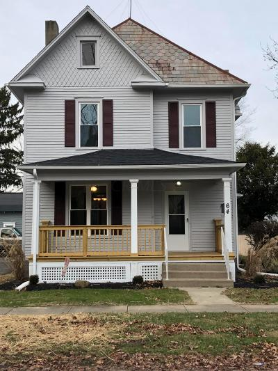 Newark Single Family Home For Sale: 64 W Channel Street
