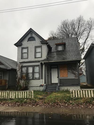 Columbus OH Single Family Home For Sale: $42,000
