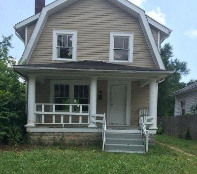 Columbus OH Single Family Home For Sale: $35,000