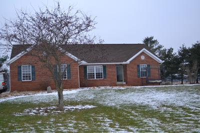 Centerburg Single Family Home For Sale: 14677 Dutch Cross Road