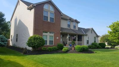 Hilliard Single Family Home Contingent Finance And Inspect: 5757 Charles Mill Court
