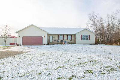 Centerburg Single Family Home For Sale: 1030 Oliver Road