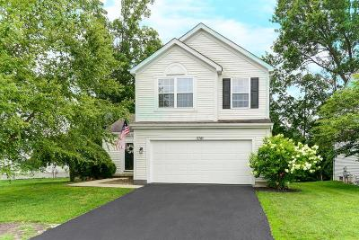 Hilliard Single Family Home Contingent Finance And Inspect: 5741 Wooden Plank Road
