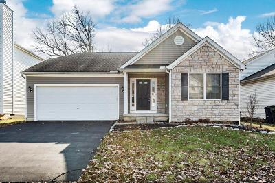 Blacklick Single Family Home For Sale: 6997 Onyxbluff Lane