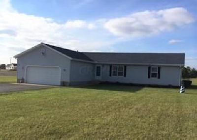Union County Single Family Home For Sale: 21525 State Route 739