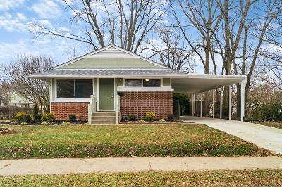 Columbus Single Family Home For Sale: 4618 E Livingston Avenue
