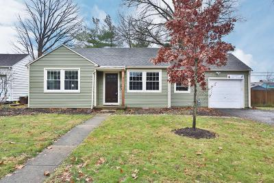 Worthington Single Family Home For Sale: 487 S Selby Boulevard