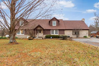 Franklin County, Delaware County, Fairfield County, Hocking County, Licking County, Madison County, Morrow County, Perry County, Pickaway County, Union County Single Family Home For Sale: 5860 Kilbury Huber Road