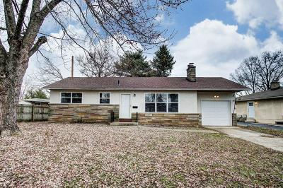 Franklin County, Delaware County, Fairfield County, Hocking County, Licking County, Madison County, Morrow County, Perry County, Pickaway County, Union County Single Family Home For Sale: 1492 Garywood Avenue