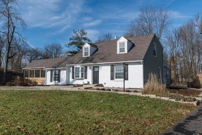 Hilliard Single Family Home Contingent Finance And Inspect: 7600 Davis Road
