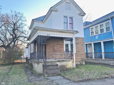 Columbus Single Family Home For Sale: 310 Burt Street