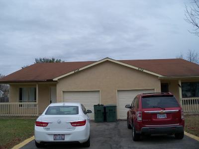Powell Multi Family Home Contingent Finance And Inspect: 2134-2136 Summit View Road