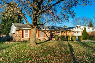 Westerville Single Family Home Contingent Finance And Inspect: 234 Huber Village Boulevard
