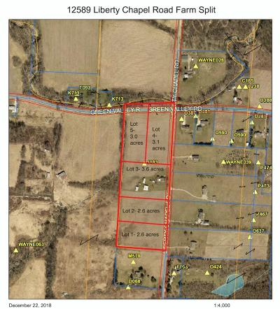 Mount Vernon Residential Lots & Land For Sale: Liberty Chapel Rd.