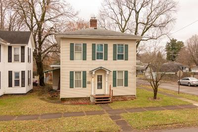 Mount Vernon Single Family Home Contingent Finance And Inspect: 622 W Gambier Street