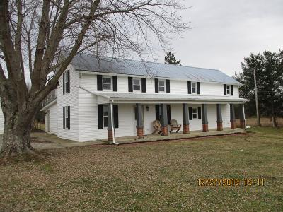 Circleville Single Family Home For Sale: 27732 Kime-Holderman Road