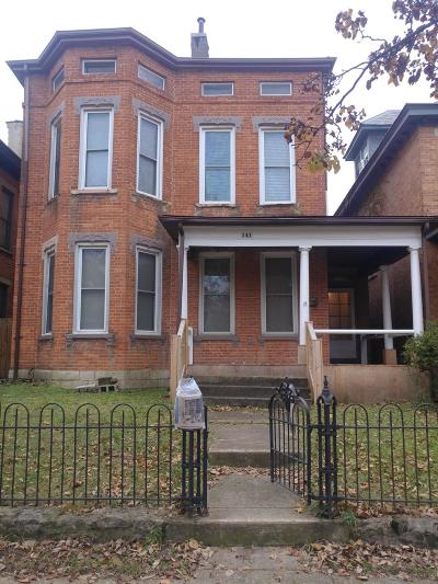 Columbus Single Family Home For Sale: 141 Warren Street