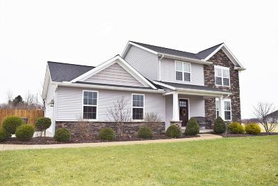 Centerburg Single Family Home Contingent Finance And Inspect: 25 Fieldcrest Drive
