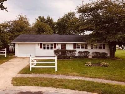 Circleville Single Family Home For Sale: 2035 Arapaho Drive