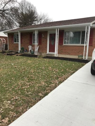 Xenia OH Single Family Home Sold: $133,900