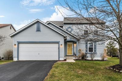 Hilliard Single Family Home Contingent Finance And Inspect: 5692 Saucony Drive