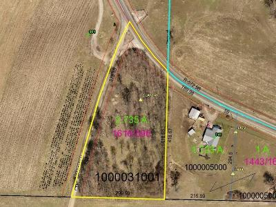Utica Residential Lots & Land For Sale: Martinsburg Road