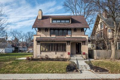 Columbus Single Family Home For Sale: 117 Franklin Park W