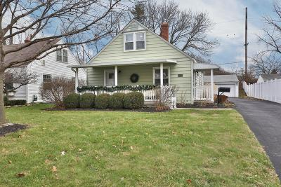 Worthington Single Family Home Contingent Finance And Inspect: 5622 Indianola Avenue