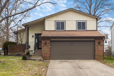 Worthington Single Family Home Contingent Finance And Inspect: 1006 Weathersfield Drive