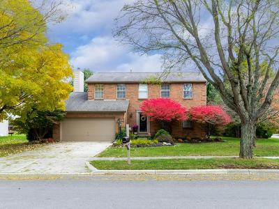 Dublin Single Family Home Contingent Finance And Inspect: 6247 Wynford Drive
