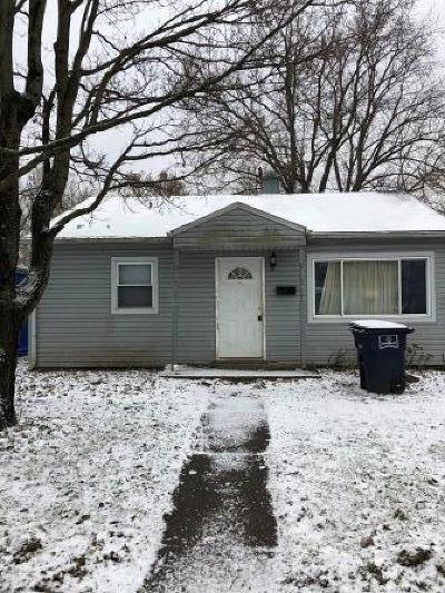 Lancaster OH Single Family Home For Sale: $54,900