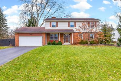 Hilliard Single Family Home Contingent Finance And Inspect: 3829 Ridgewood Drive