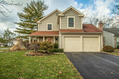Dublin Single Family Home Contingent Finance And Inspect: 5971 Hildenboro Drive