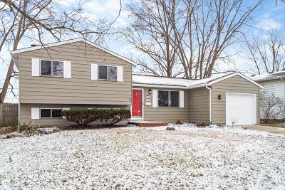 Westerville Single Family Home Contingent Finance And Inspect: 3605 Manila Drive